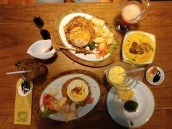Fried Rice and Soto Tangkar