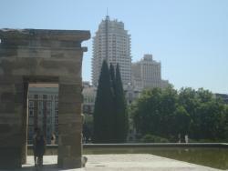 Jardins do Templo de Debod