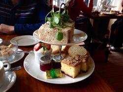 ‪Afternoon Tea at The Wild Boar‬