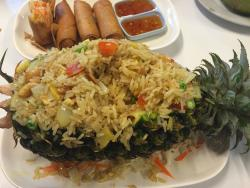 Best food in the island, staff is extremely friendly and speak very good english, definitely the