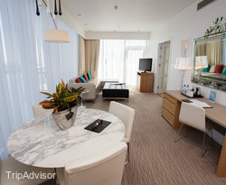 The Executive Master Suite at The St. David's Hotel