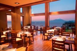 Amanecer en nuestro Restaurant Cumbres del Lago