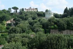 View from Bar/ Restaurant Area of Boboli Gardens