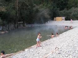 開放的な仙人風呂