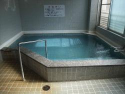 川湯温泉公衆浴場の浴室