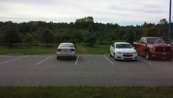 Rear Parking Lot