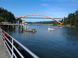 La Conner Rainbow Bridge