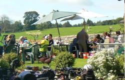 Greystoke Cycle Cafe Tea Garden