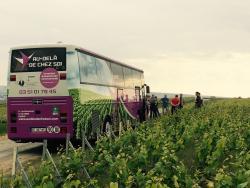 Au-dela de chez soi - Bus en Vignes
