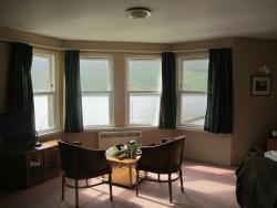 Panoramic window in Heather suite