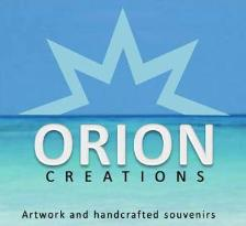 Orion Creations handmade in T.C.I located at Serene By Mel