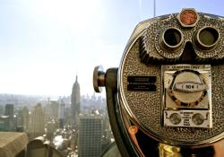 "Plataforma de Observación ""Top of the Rock"""