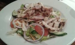 Chicken & bacon taco salad