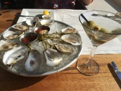 Sakonnet oysters