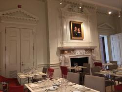 The Morgan Library Dining Room