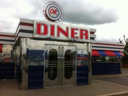 Front of Diner