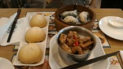 Pork buns, Steam spinach, Pork ribs