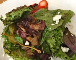 Farmer Salad $9 chef's rotating selection of local market bounty