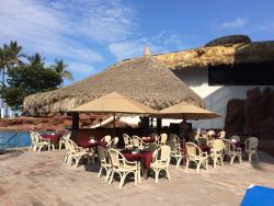 La Cascado at El cid El Moro Beach hotel