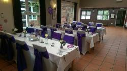 Our wedding reception venue at the blue bell suite was amazing and we can highly recommend anyon