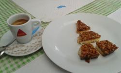 Torta de amêndoas (simplesmente deliciosa)