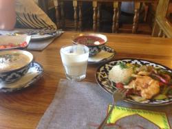 Обед в Чайхане Айва