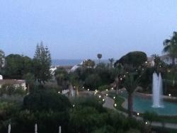 Evening view form the balcony