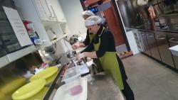I nostri hamburgers son fatti a mano da noi con carne di prima scelta! :)