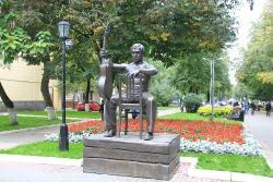 Vysotskiy Statue