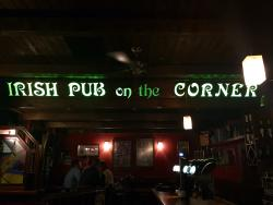 Irish Pub on the corner