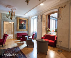 Tea Room at the Hotel Le Bouclier d'Or