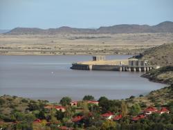 View from restaurant area on Gariep dam.