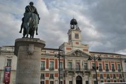Reloj de la Comunidad de Madrid