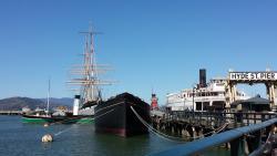 San Francisco Maritime National Historical Park Ships at Hyde Street Pier