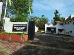 Narmada Resort Entrance,