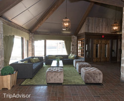 Lobby at the Old Stone Inn Boutique Hotel