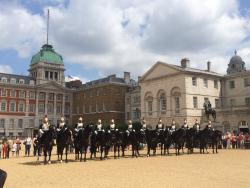 Horse Guards Parade at Whitehall