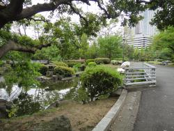 North Garden of the Diet Front Park