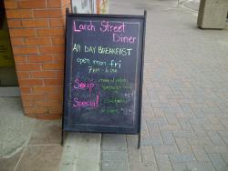 Larch Street Diner