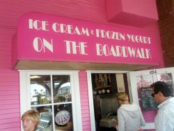 Ice Cream and Frozen Yogurt On the Boardwalk