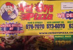 Fat Boys Pizza
