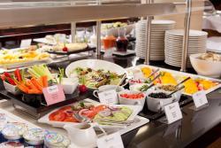buffet breakfast - vegetarian