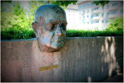 Monument to Finnish Composer Jean Sibelius