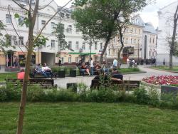 Novokuznetskaya Street, Pedestrian Walk