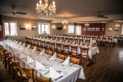 Our North Hall, perfect for large parties