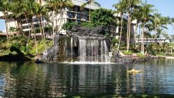 Hilton Waikoloa Village - Lagoon Waterfall