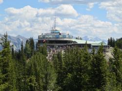 Top station Sulphur Mountain