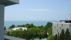 Вид с балкона на черное море