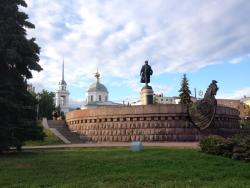 Monument to Afanasiy Nikitin