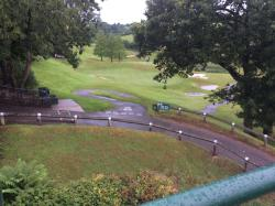 Grounds showing golf course